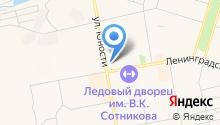Convex на карте