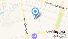 Администрация Дзержинского района на карте