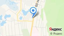 Автостоянка на ул. 60 лет октября на карте