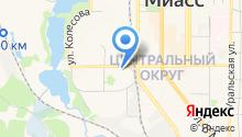 Апрель на карте