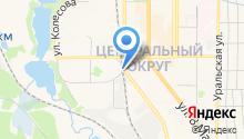 АЗС Урал-Нефть на карте