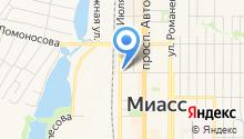 Инспекция по делам несовершеннолетних отдела МВД России по г. Миассу на карте