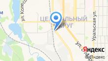 Газпром газораспределение Челябинск на карте