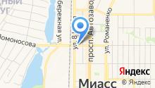 Магазин автозапчастей для Нива на карте