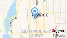 Детская стоматологическая поликлиника на карте