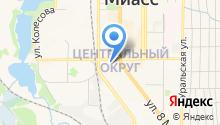 Аквавит, ЗАО на карте