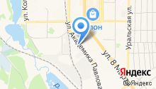 АвентА на карте