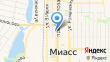 Банкомат, ЧЕЛЯБИНВЕСТБАНК на карте