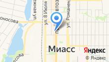 Колёса-Миасс на карте