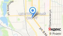 Юрис на карте