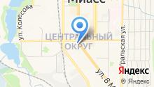 КаркасДомСтрой на карте
