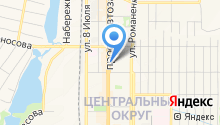 ВУЗ-банк на карте