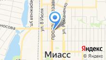 Tez Tour на карте