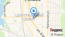 Государственная инспекция труда в Челябинской области на карте