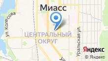 Veste на карте