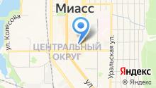 Де`Марш на карте