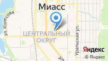 NINEL на карте