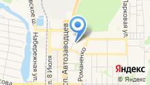Интернет-магазин жидких обоев на карте