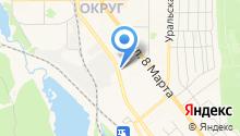 Дом мебели Центральный на карте