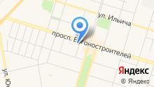 Svettour на карте