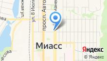 Арбитражный управляющий Калугина Л.В. на карте