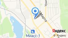 Карамболь на карте