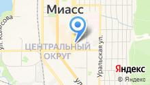 Магазин автотоваров для Волги, ГАЗ на карте