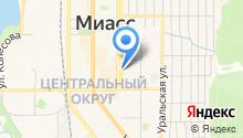 Амвей на карте