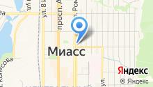 Янтарная пинта на карте