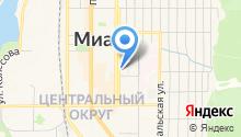 Полиграф, ЗАО на карте