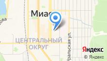 Горизонты Урала на карте