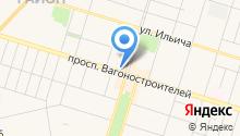 Brendomanия на карте