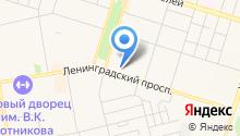 Юриэлт на карте
