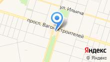 USB на карте