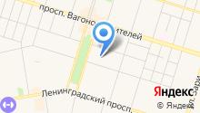 AutoKipish на карте
