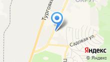 Евродеталь на карте