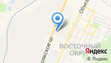 ДИКАН на карте