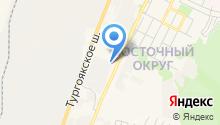 Автоцентр УАЗ на карте