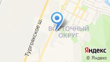 Автозапчасти Урал на карте