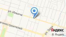Автомойка на Ильича на карте
