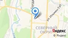 Промснабэлектро на карте