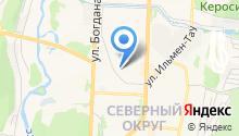 Урал СП на карте