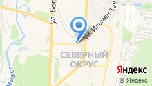 Автокомплекс SK на карте