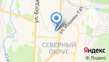 Paulina на карте