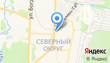Банкомат, ЧЕЛИНДБАНК на карте