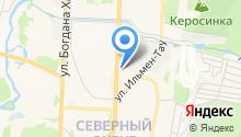 Дженили на карте