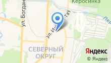 ИЛЬМЕН-ТАУ на карте
