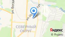 Детский сад №40, Росинка на карте