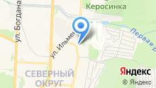 БЕЛОСТРОЙ на карте