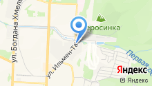 Банкомат, Банк Снежинский на карте